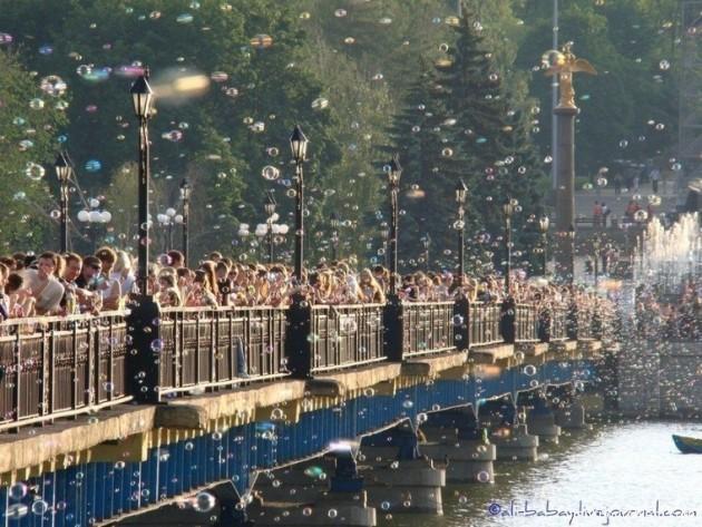 Фестиваль мыльных пузырей в Санкт-Петербурге
