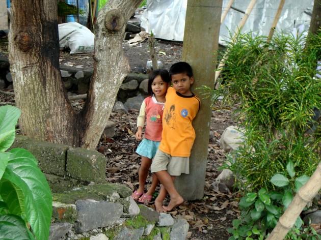 Индонезийские дети. Бали