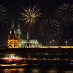 """Фестиваль """"Рейн в Огнях"""" в Германии"""