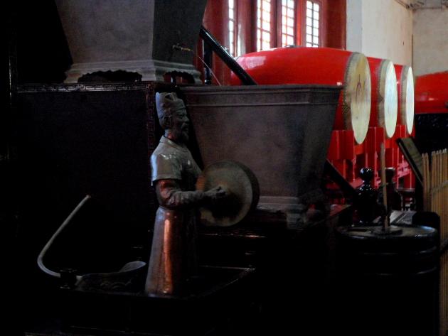 Древний часовой механизм. Барабанная башня. Пекин