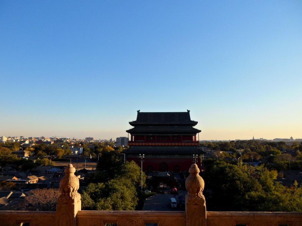 Барабанная колокольная башня Пекин