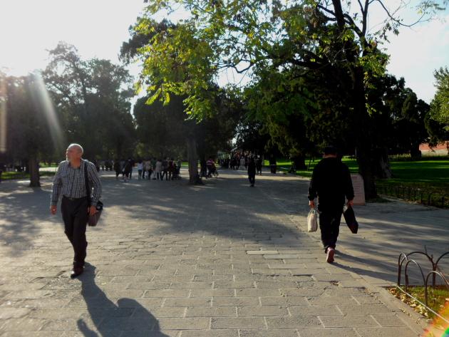 Храм Неба. Храмовый комплекс. Парк