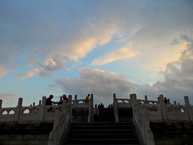 Алтарь Неба. Храм Неба. Пекин. Китай