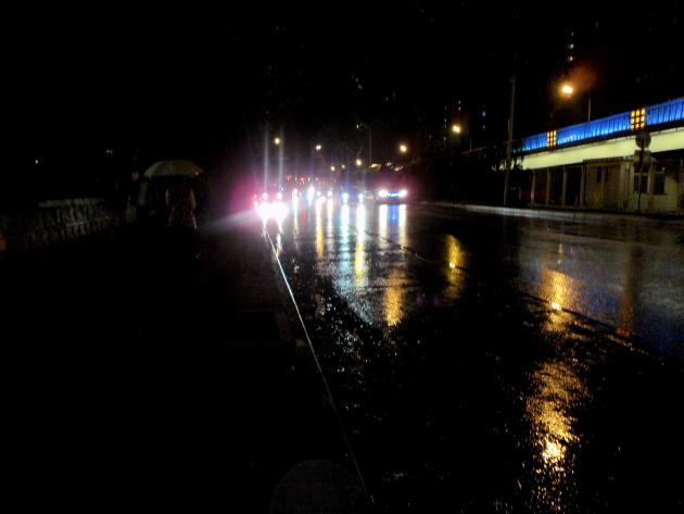 Дождливая ночь. Пекин