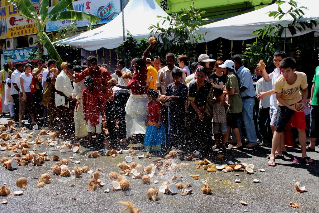 Праздник Тайпусам на Пенанге