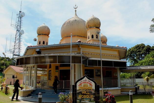 Мечеть на холме Пенанг