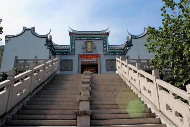 Китайский храм на холме Пенанг