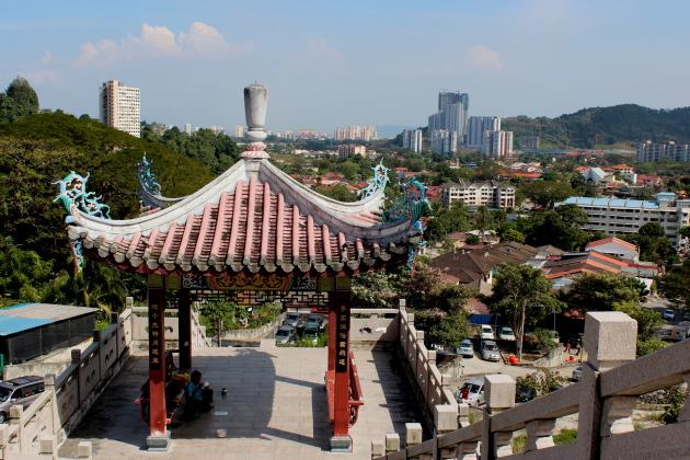 Китайский храм. Холм Пенанг
