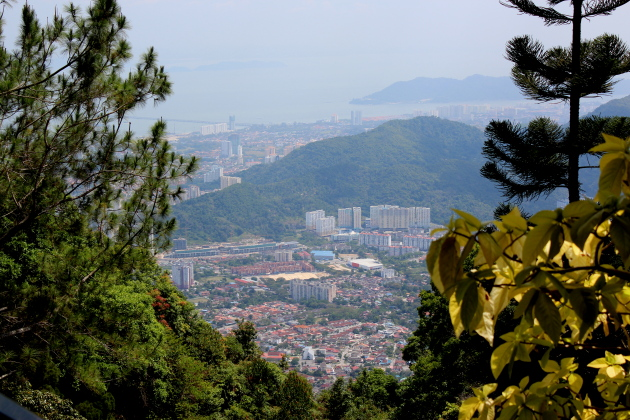 Вид с холма Пенанг