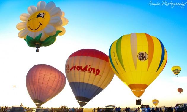 Фестиваль воздушных шаров (Philippine International Hot Air Balloon Fiesta)