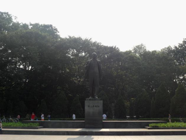 Достопримечательности Ханоя. Ленин В.И.