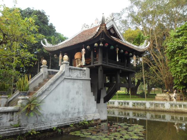 Пагода на одном столбе. Достопримечательности Ханоя