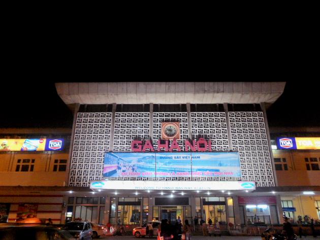 Вокзал. Достопримечательности Ханоя