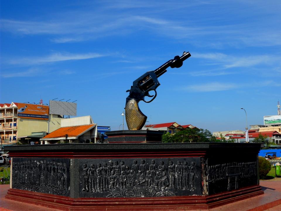Достопримечательности Пномпеня Прощай Оружие