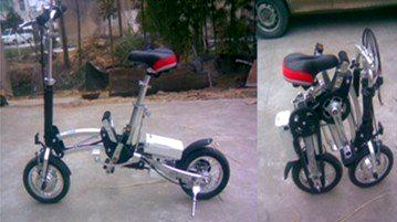 Электровелосипед в Китае