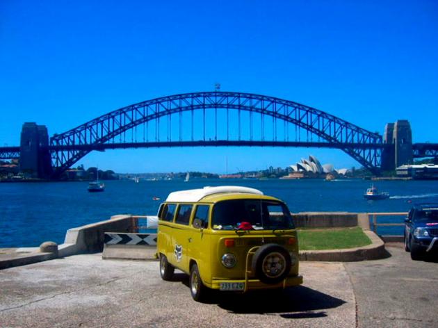 На микроавтобусе по Австралии