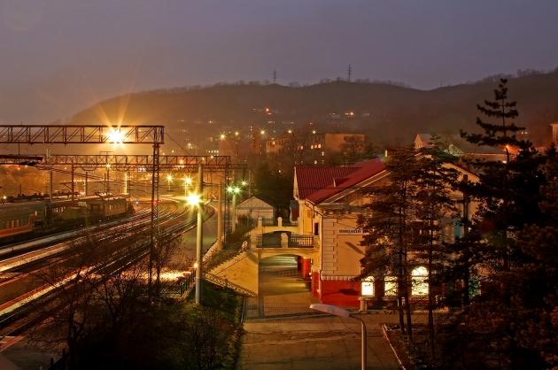 Транссибирская магистраль на поезде по России