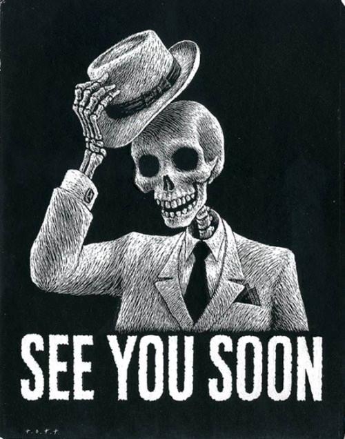 День мёртвых. Скоро увидимся!