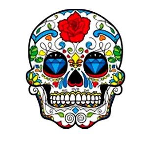 День мёртвых - череп | Dia de muertos