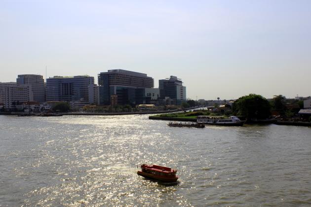 Храмы Бангкока по реке