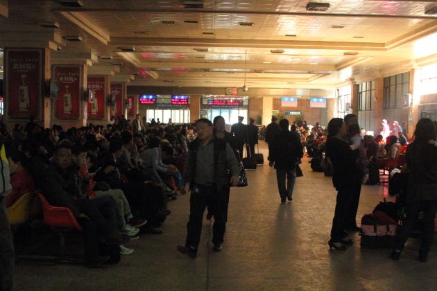 Вокзал в Шицзячжуане