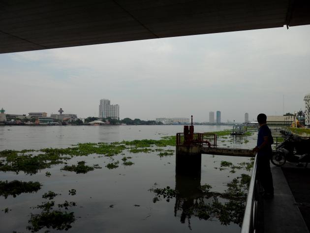 Храмы Бангкока - под мостом Рамы