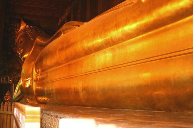 Самые храмы БКК - лежащий Будда