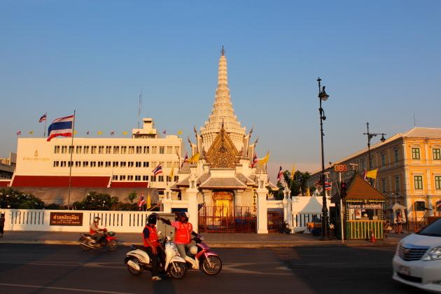 Самые красивые храмы Бангкока