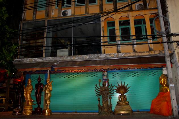 Самые храмы Бангкока - на улице
