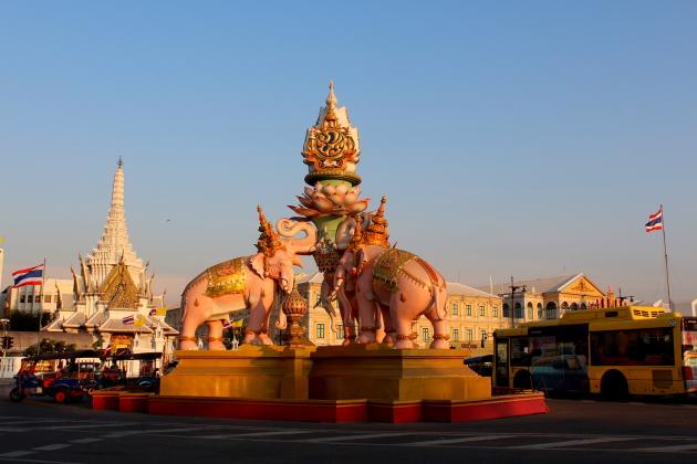 Улицы и храмы Бангкока