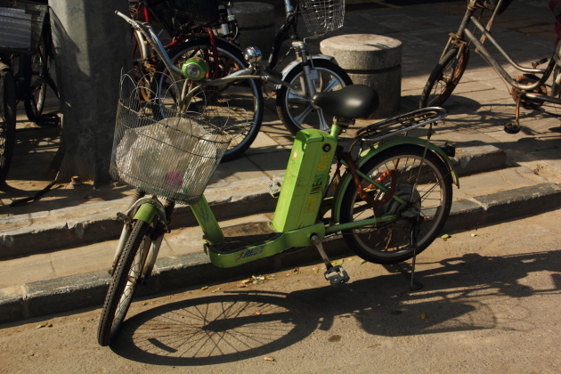 Выходные в Пекине. Электровелосипед