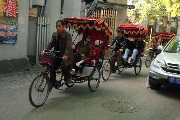Улочки старого Пекина. Рикша тур