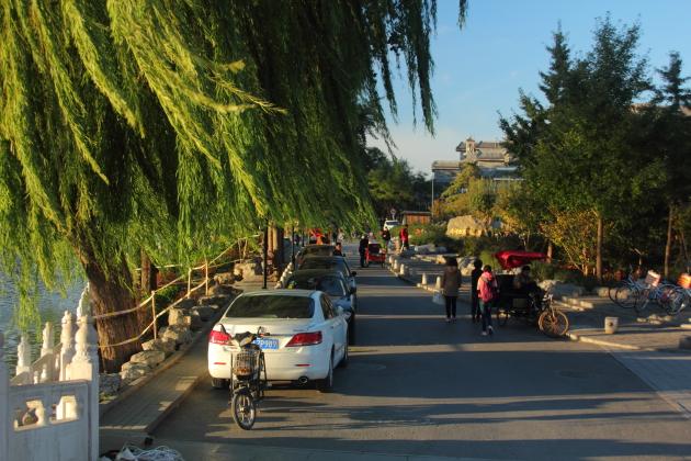 Улочки старого Пекина. Парк