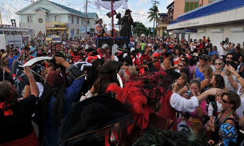 Фестиваль пиратов на каймановых островах