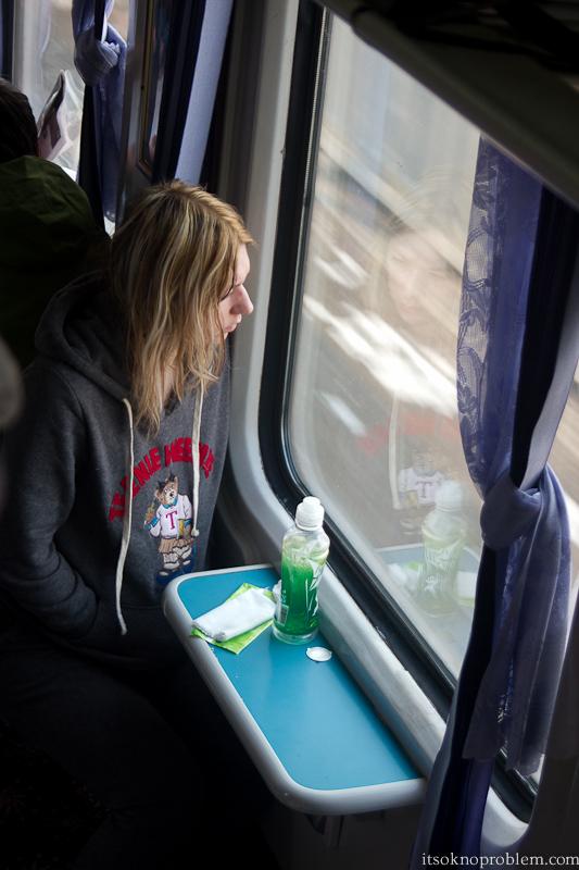 Поезда в Китае. Юля в плацкарте из Ухани до Баодина