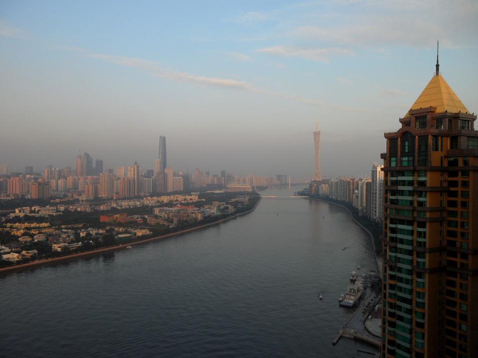 Современный Гуанчжоу. Кантонская Башня