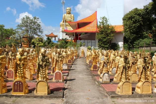 Китайское кладбище, Хат Яй, Таиланд