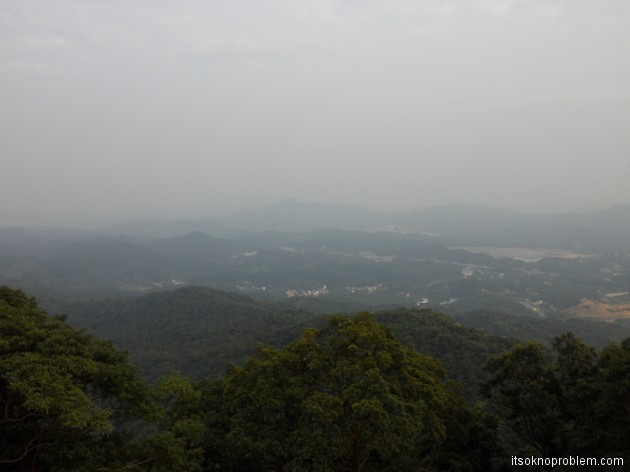 Поход в горы Гуанчжоу