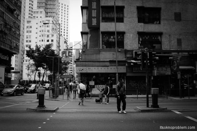 Сумрачный Гонконг (фото)