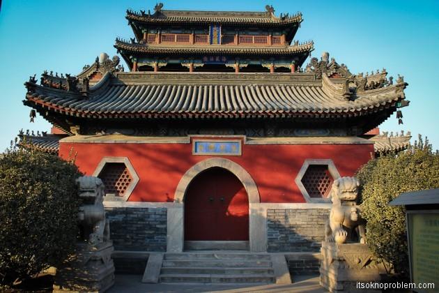 Достопримечательности Баодина храм Великого Милосердия