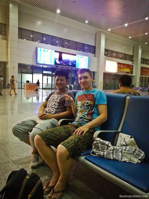 Обновление. Поезд Баодин - Шенчьжень-я и Ли