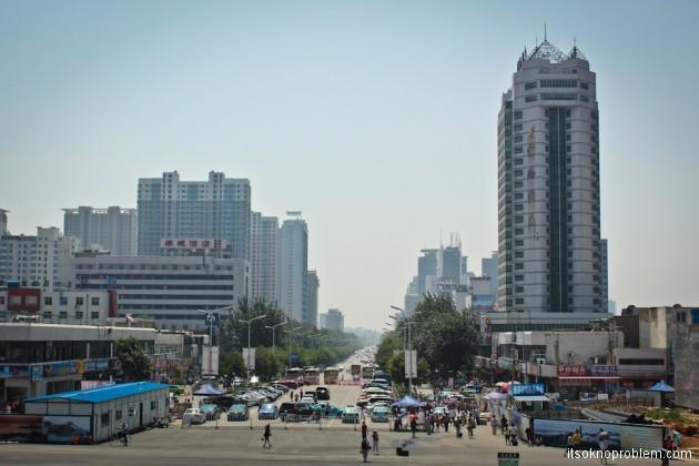 Сюрпризы от китайских железных дорог. Циньхуандао