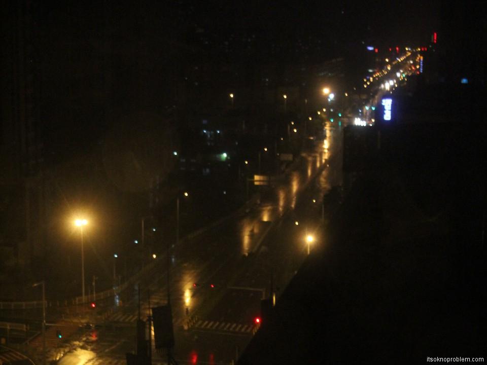 Тайфун Усаги на юге Китая Шеньчжень