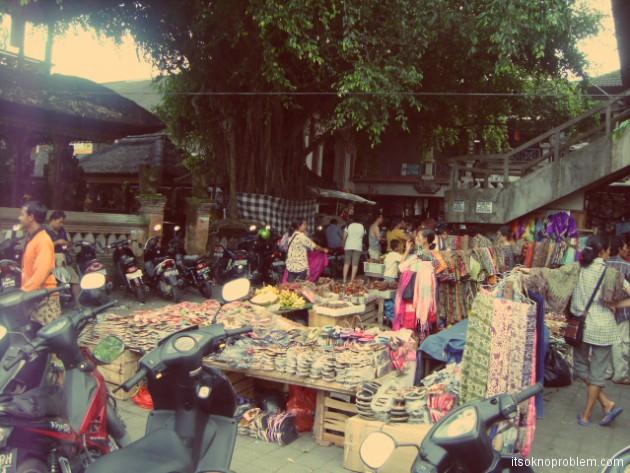 Рынок в Убуде. Бали. Индонезия