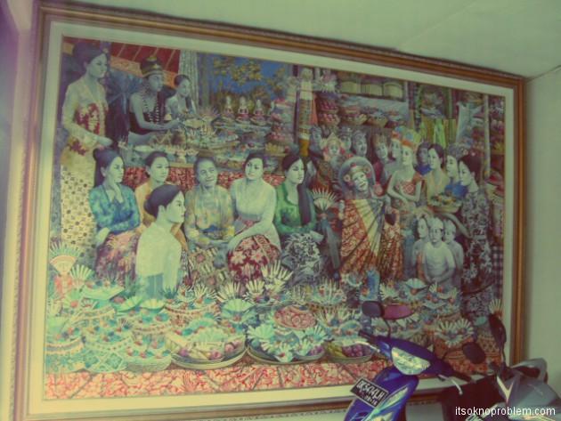 Работы художников в Убуде. Бали. Индонезия