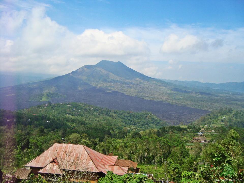 Кинтамани. Вулкан Батур. Бали. Индонезия