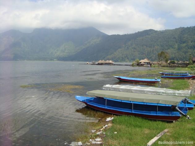 Кратерное озеро Батур. Кинтамани. Бали. Индонезия
