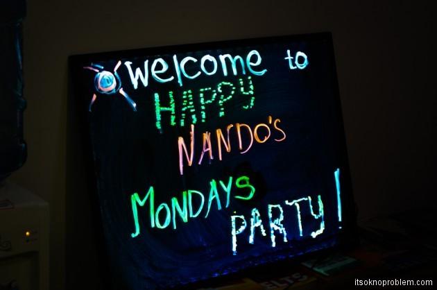 Happy Nando's Mondays - Вечеринка номер 1. Шэньчжэнь