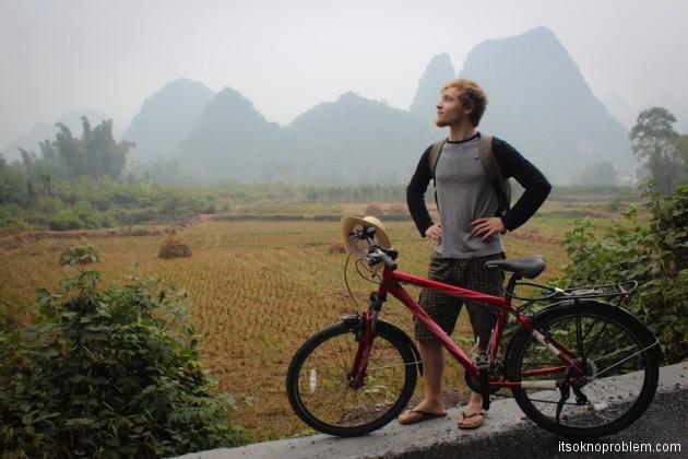 На велосипеде вокруг Яншо. Лунный холм