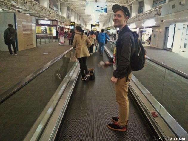 Из Гуанчжоу в Дели. Аэропорт Байюн